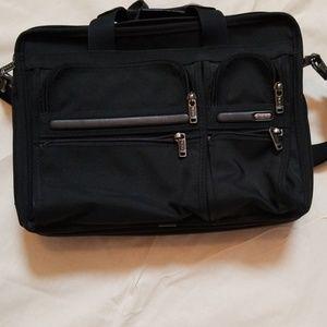 Tumi expandable organizer bag